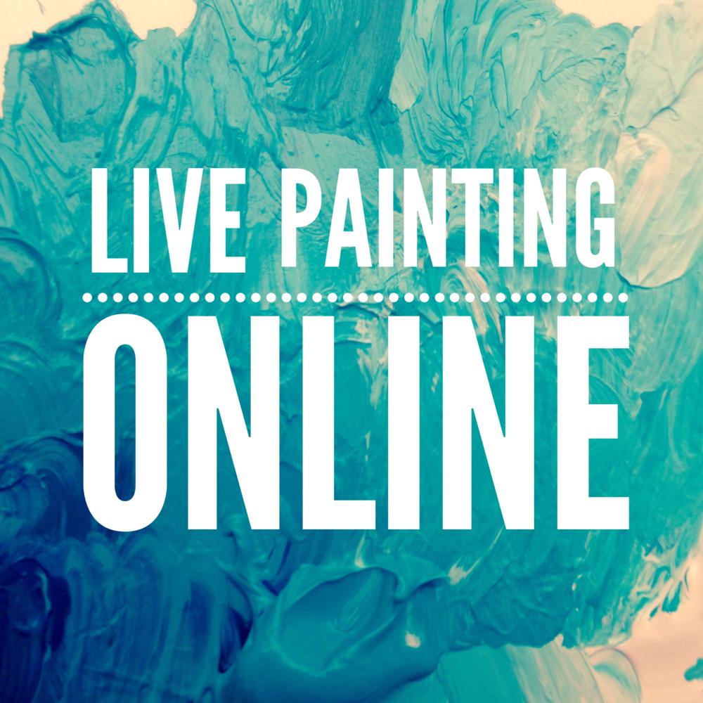 Follow me on Twitch!  http://www.twitch.tv/jennygeeberry Watch me paint!