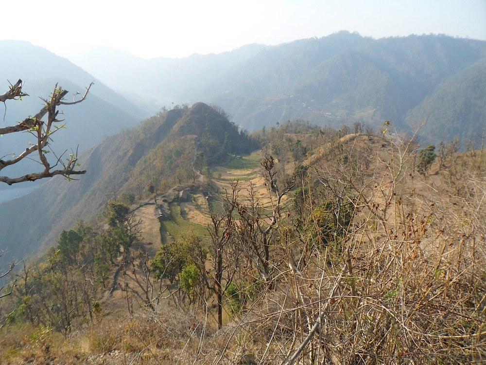 The Himalayan path to Mt. Kailash where Shiva was born