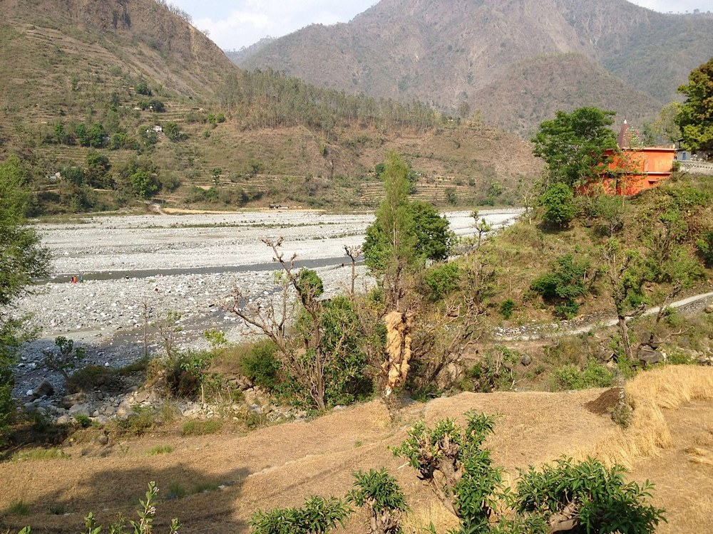 The Ganga in the Himalayas - head waters of the Ganges