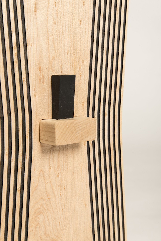 "detail of wooden ""pin"""