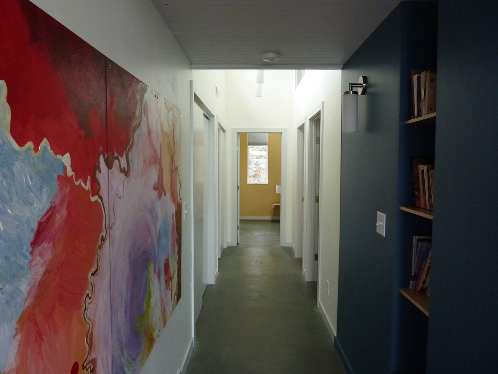 Open Water, hallway installation