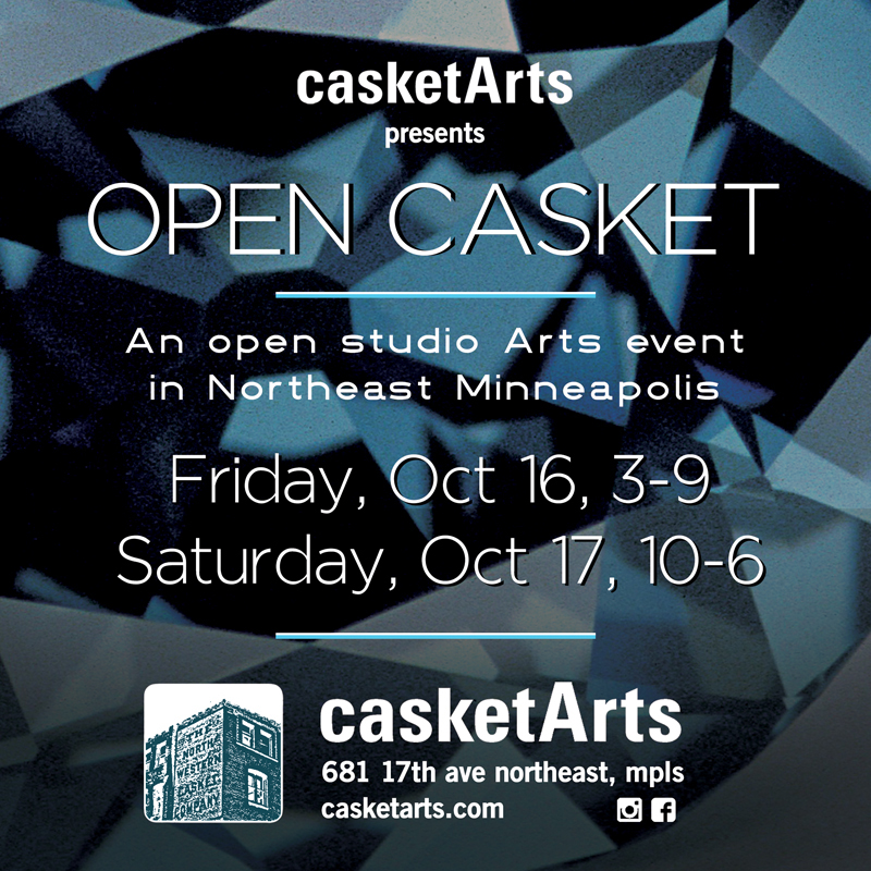 Open Casket Casket Art Communitys Two Day Fall Event Nickyworks