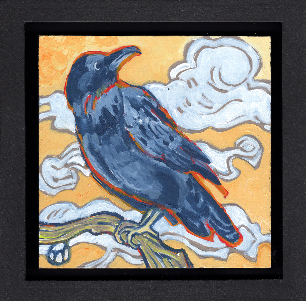 Raven and Clouds