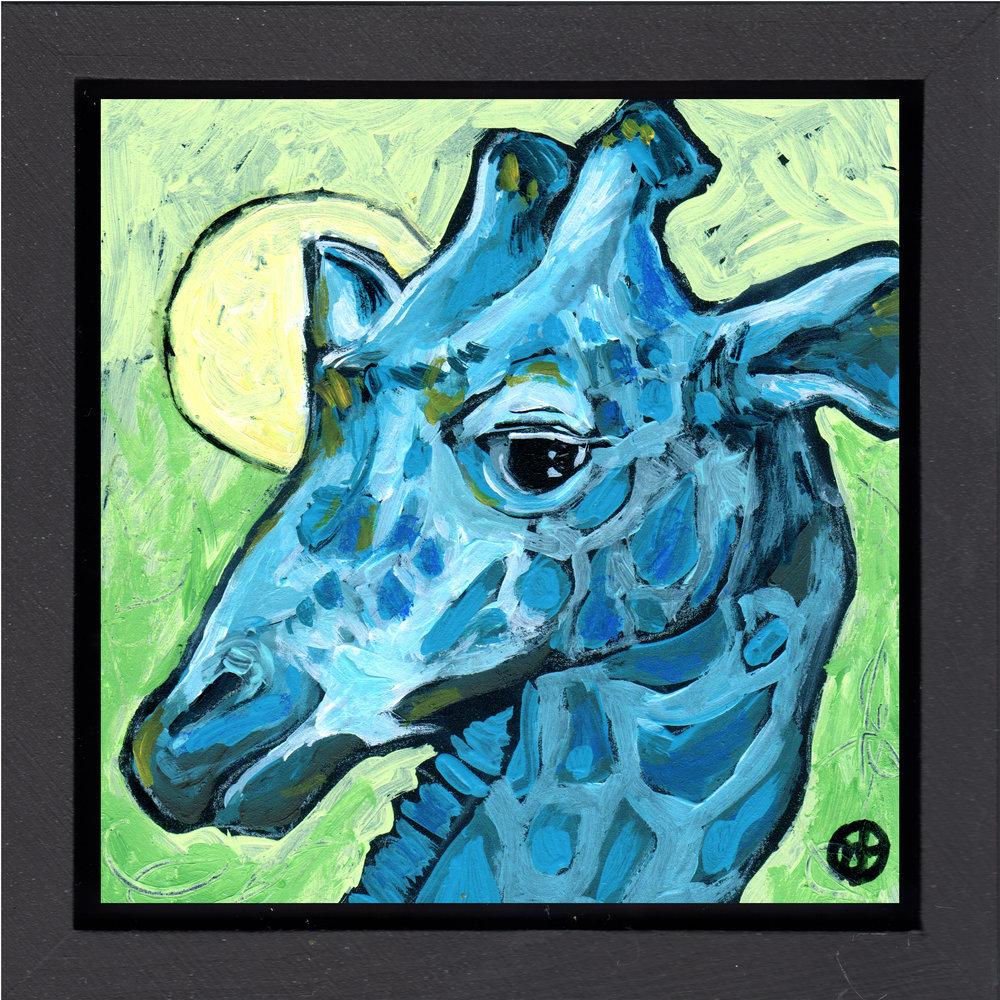 Suspicious Giraffe