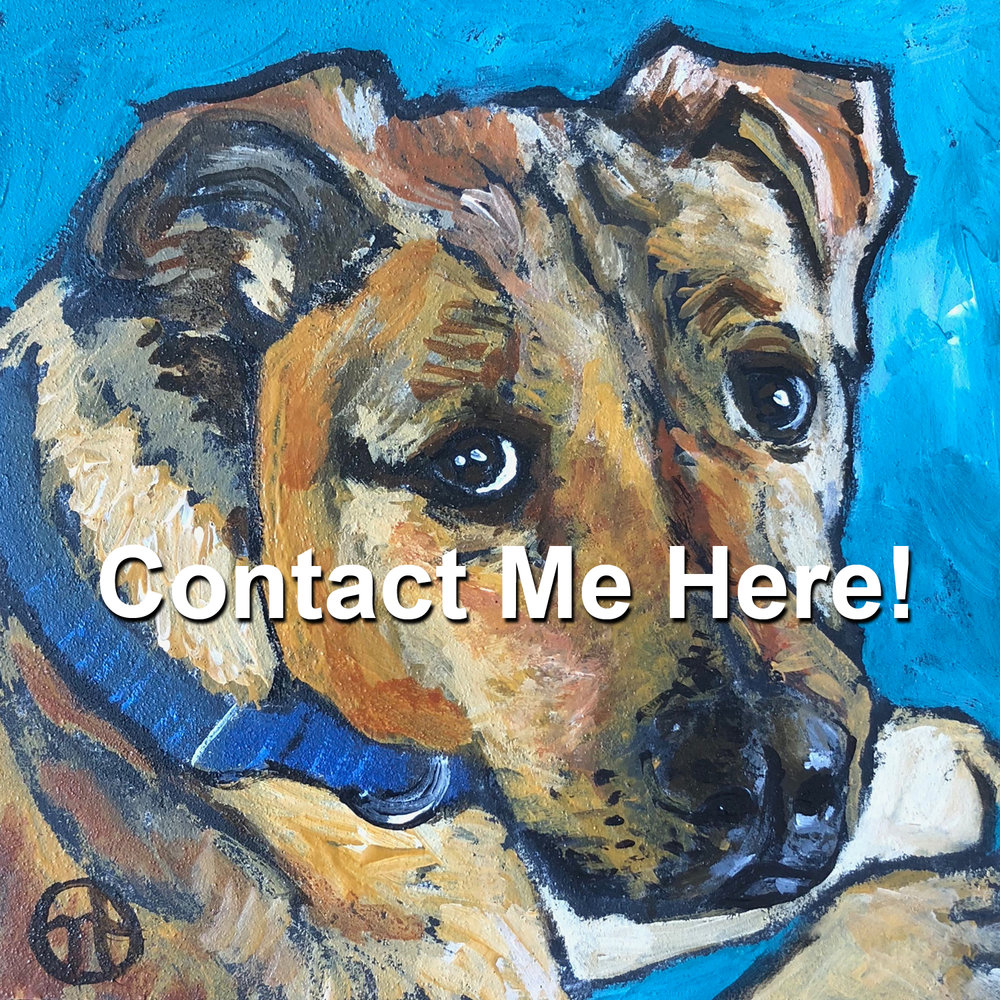 To contact me about commissioning a pet portrait, use this contact link. Thank you!  https://nicky-torkzadeh.squarespace.com/config/pages