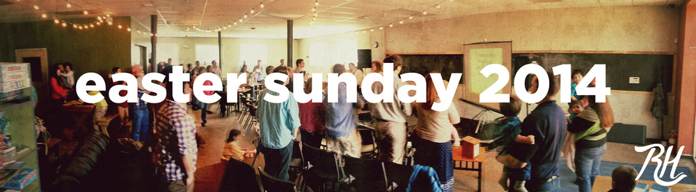 First Service at Root Cellar - Easter 2014