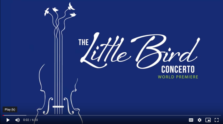 Click the image above to view documentary about The Little Bird Violin Concerto