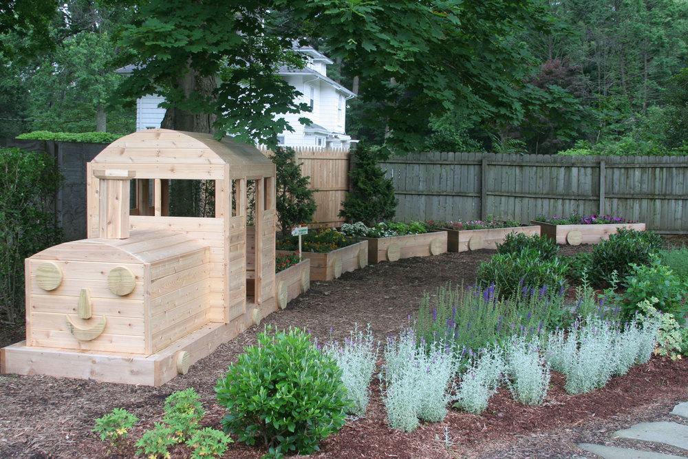Garden Design Nursery over the rainbow nursery school children's garden — confair design