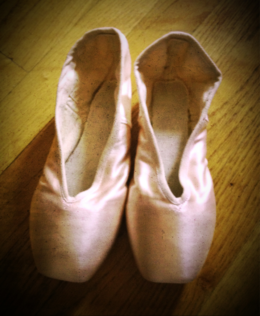 My love for ballet is not secret  … Just bought this wonderful ones to add to my paraphernalia collection