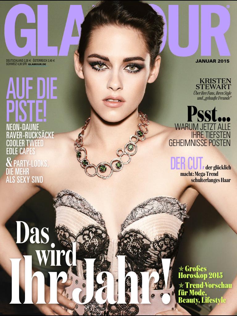 Glamour Germany January 2014