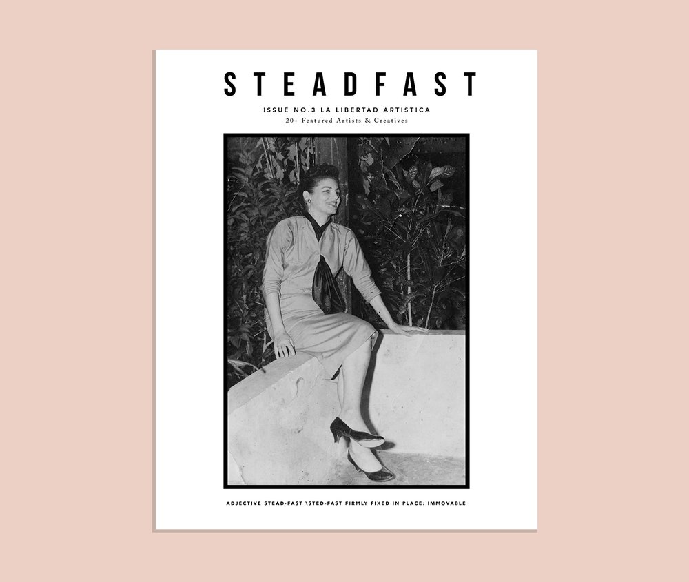 STEADFAST ISSUE 3 LA LIBERTAD ARTISTICA