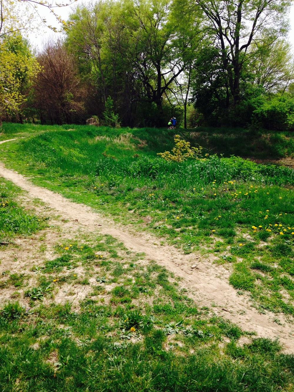 Lafayette's idea of a bike path?