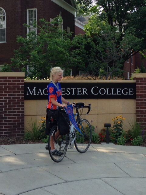 779 miles to Macalester. Worth every pedal stroke.