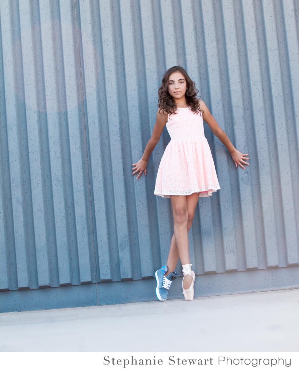 Albuquerque-Santa Fe-Rio Rancho-Beauty-Photographer-Dancer-Teen-Teenager-Ballet-Points-High-Top-Stephanie-Stewart-Photography-009