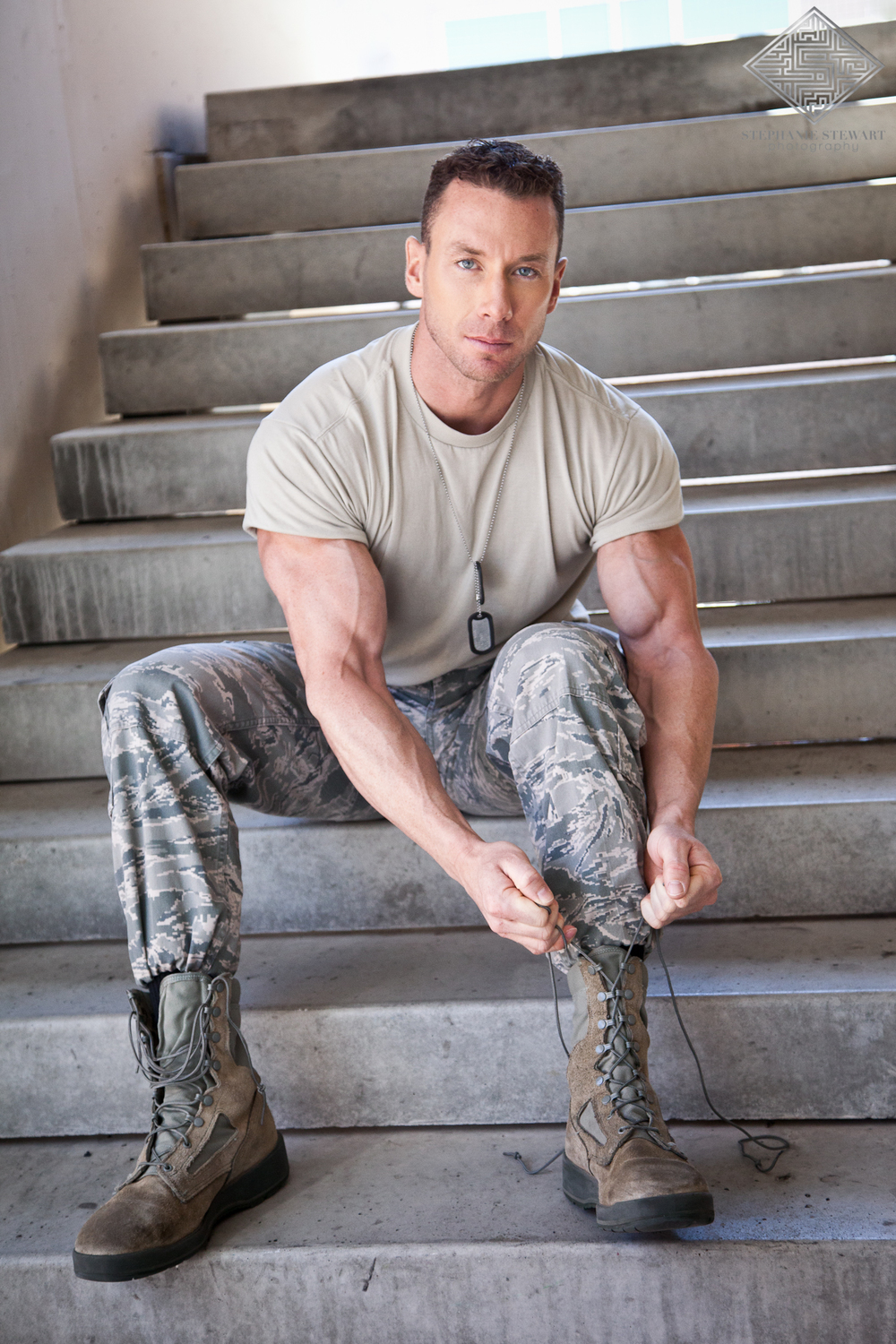Mens-Physique-Fitness-Air-Force-Sexy-Man-In-Uniform-Albuquerque-Stephanie-Stewart-Photography