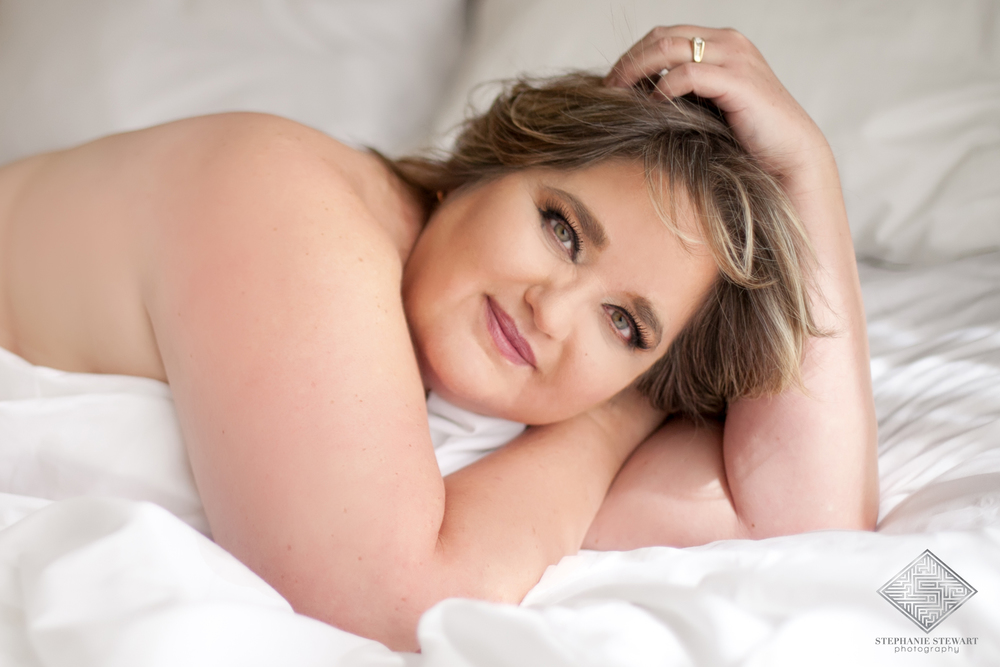 Beautiful plus size nude curvy women