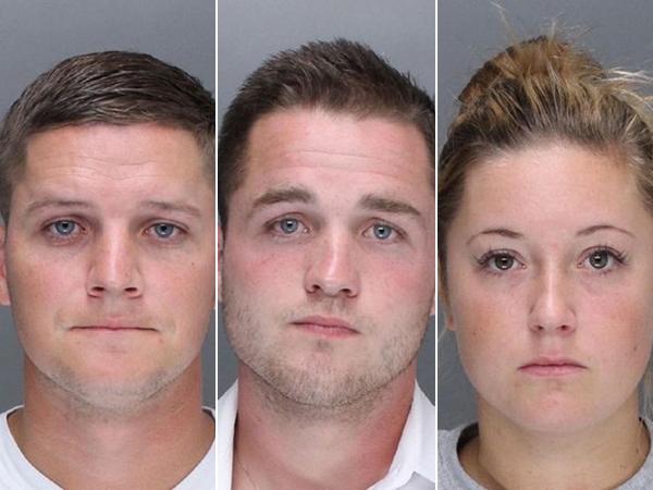 Philadelphia attackers: Kevin Kerrigan, Kathryn Knott, and Philip Williams