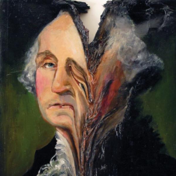 Kevin Devine's cover for his album,Bubblegum.