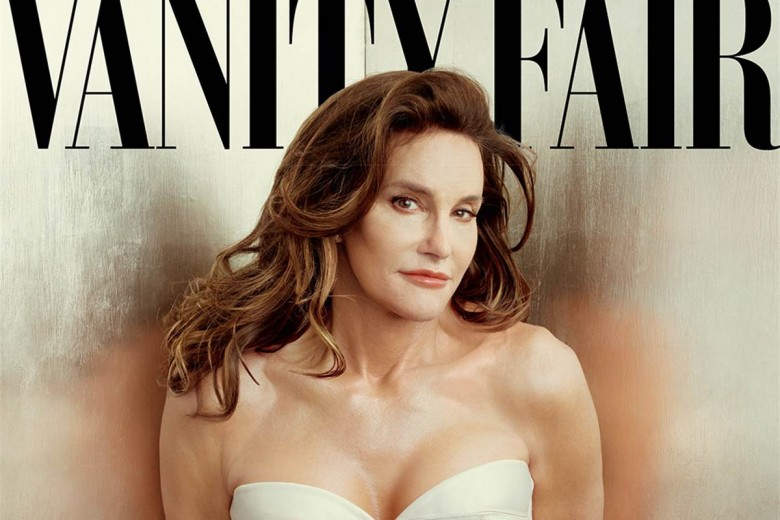 Caitlyn Jenner on the cover of Vanity Fair. Image courtesy of Vanity Fair.