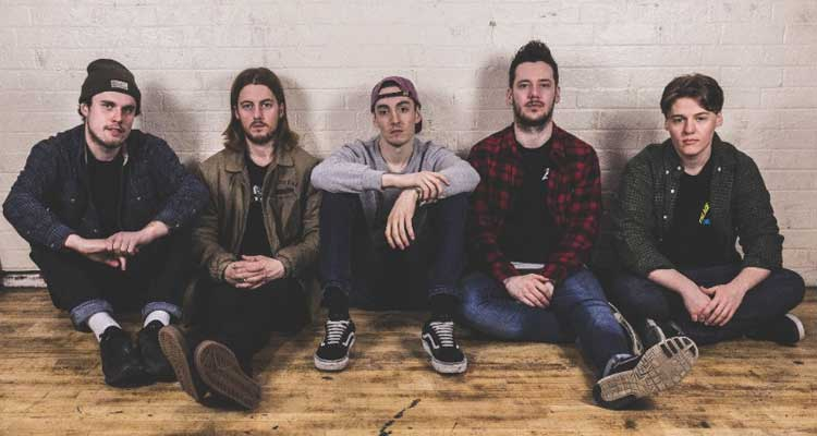 Hailing from the United Kingdom, pop-punk outfit, Trash Boat, might be the next big Hopeless Records band. (Tobi Duncan [center])
