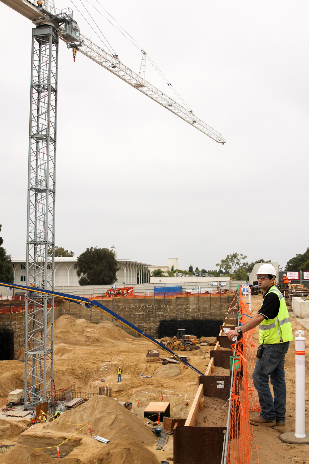 Science and Engineering Building Construction | Loyola Marymount University