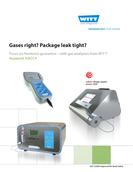Brochure WITT Gas Analyzers