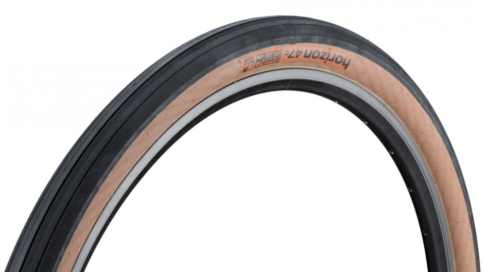 WTB 650B 47c tire. Because cheap tire are not worth it and expensive tires are.. well too expensive @ $30/per these are the best bang for your buck