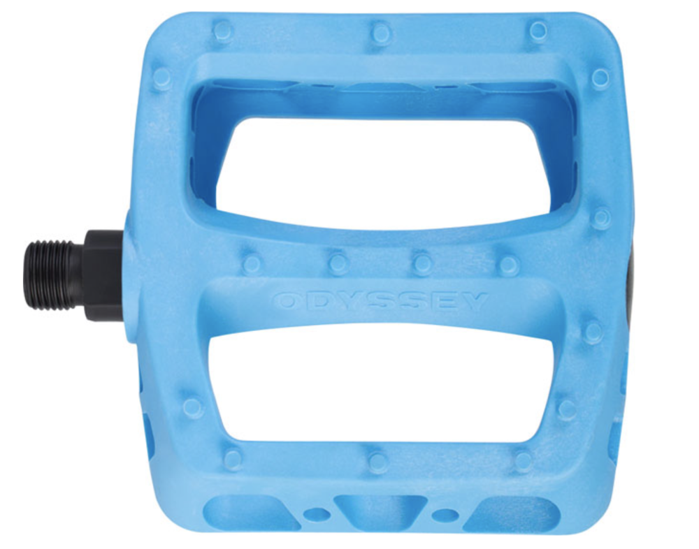 super sweet blue pedals $23