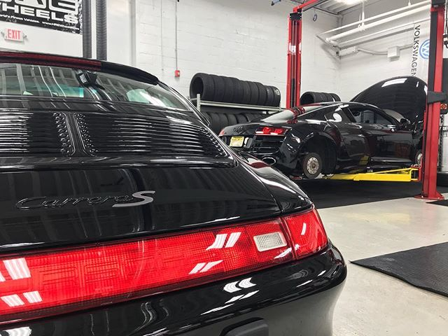 Two more wrapped in 22PLE. The shine is unmistakable. For the best protection and gloss there's nothing better! Schedule your car now! #autoluxe #luxelifeornolife #porsche #audi #detailsdoneright #detailingboost #911 #r8 #detailed #e4l #exotic #exotics4life #instacar #luxury4play #luxury #motor_head_ #performance #itswhitenoise #thebillionairesclub #ridiculouslifestyle #lavish #carswithoutlimits #carporn #carinstagram #avantbleu #envisionbleu #tristate #elite #carlifestyle #cupgang