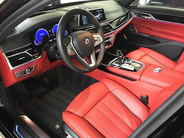 The interior on this Alpina B7 is awesome! Schedule your car now! #autoluxe #luxelifeornolife #bmw #alpina #detailsdoneright #detailingboost #bimmer #alpinab7 #detailed #e4l #exotic #exotics4life #instacar #luxury4play #luxury #motor_head_ #performance #itswhitenoise #thebillionairesclub #ridiculouslifestyle #lavish #carswithoutlimits #carporn #carinstagram #avantbleu #envisionbleu #tristate #elite #carlifestyle #cupgang