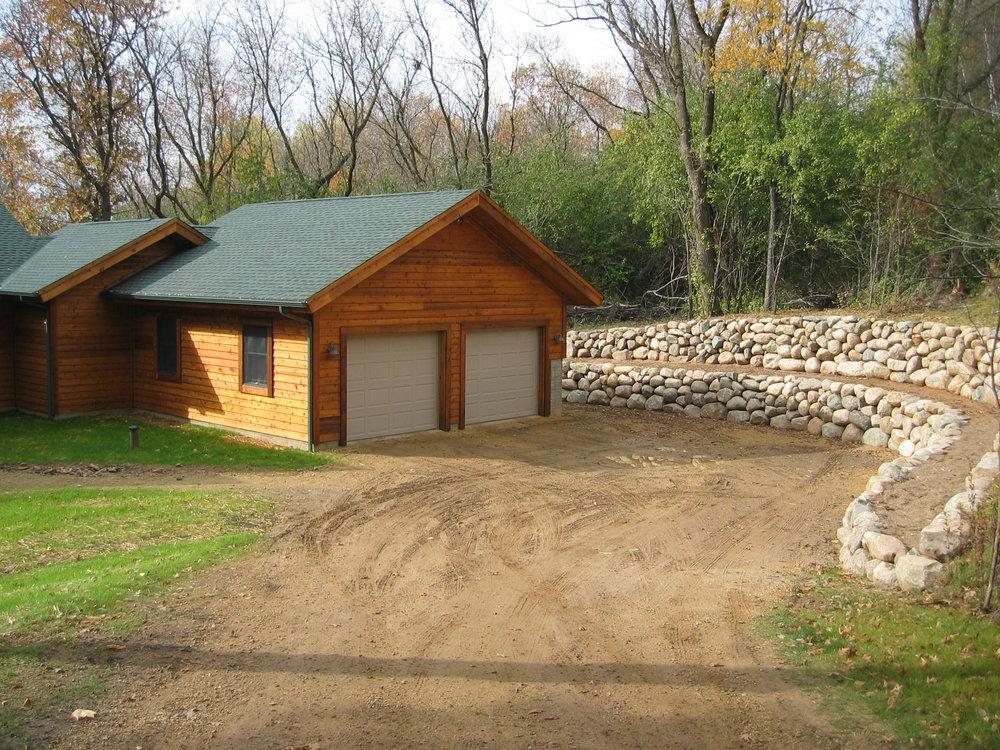 St. Joseph, WI Timber Frame: Garage
