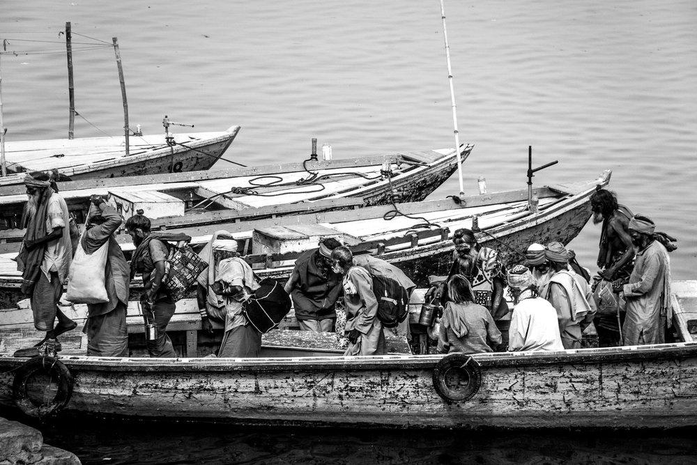 Almuerzo en el Ganges II