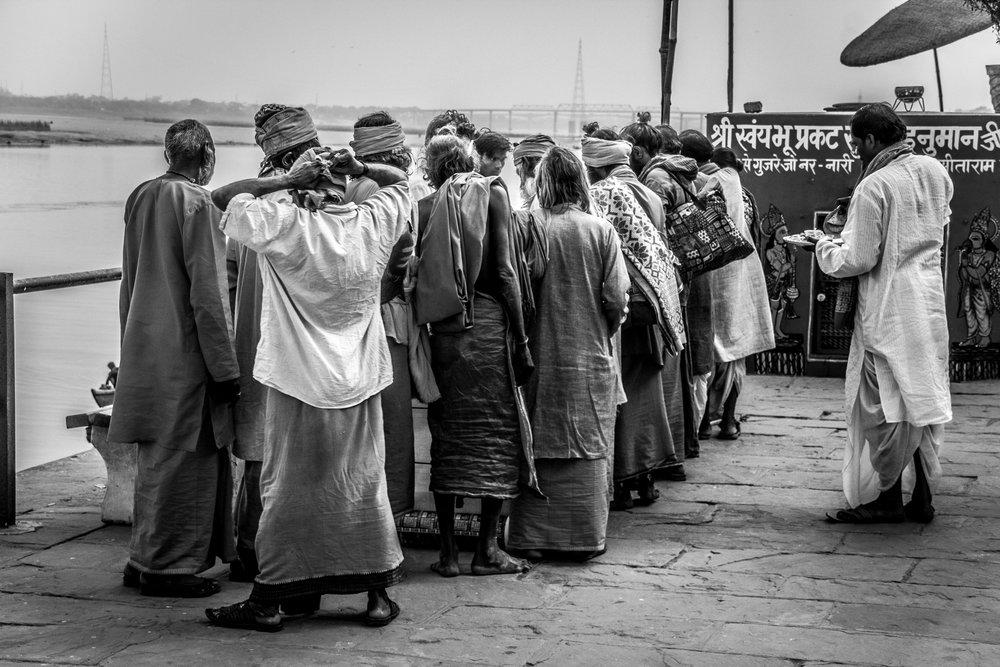 Almuerzo en el Ganges VI