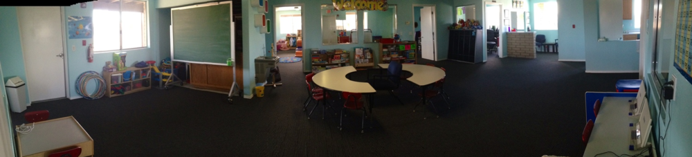 Our after school room offers age appropriate games, activities, and homework area!