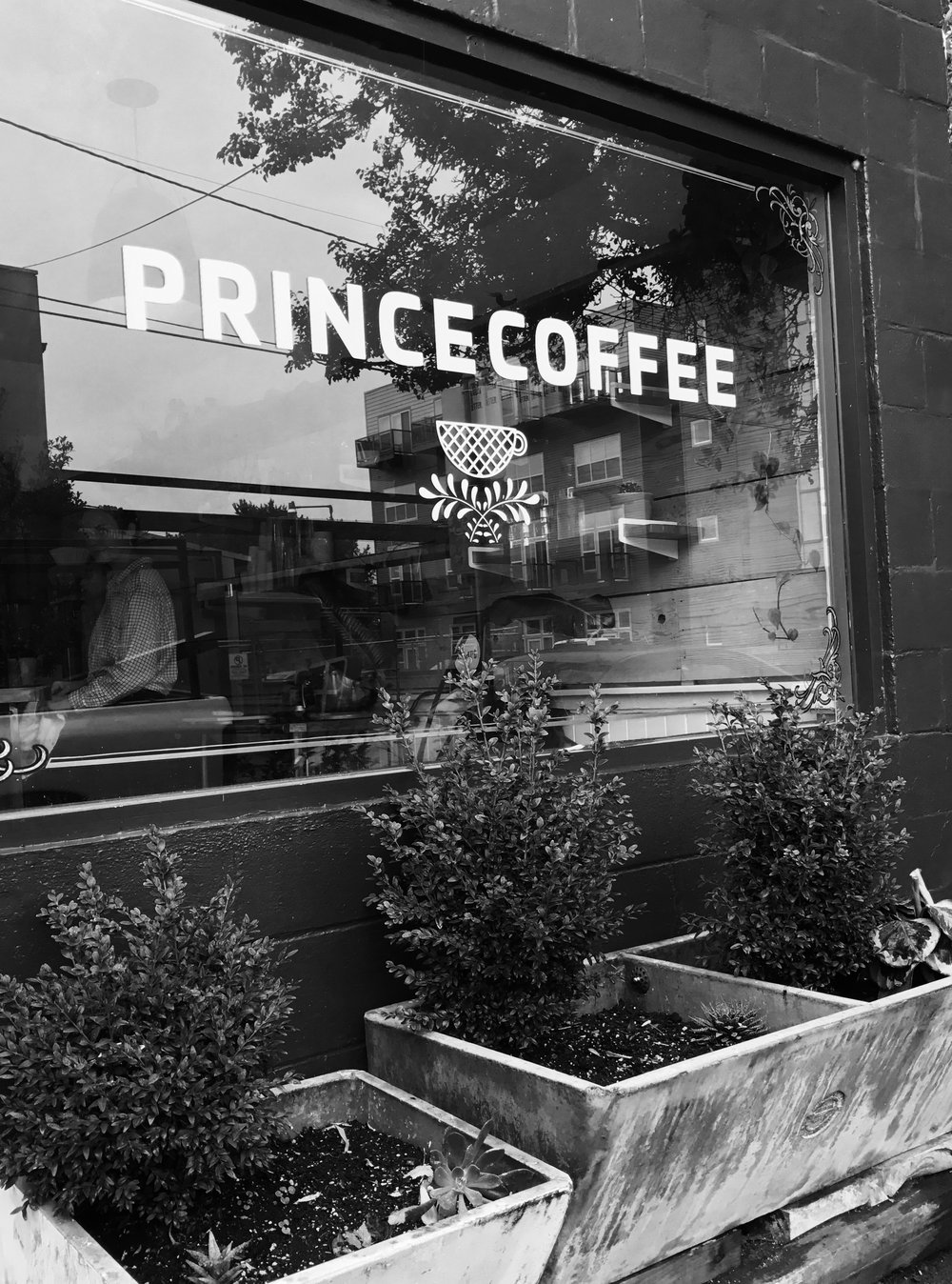 Of course we had to grab coffee at Prince!