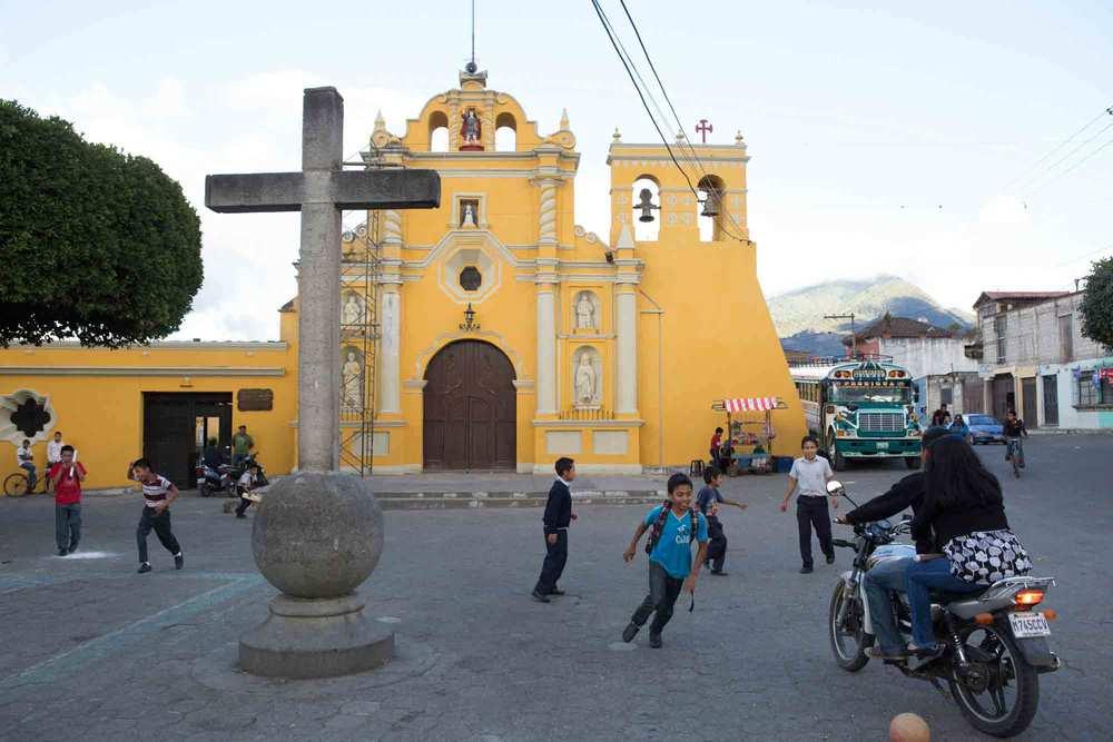 Plaza of San Miguel Escobar