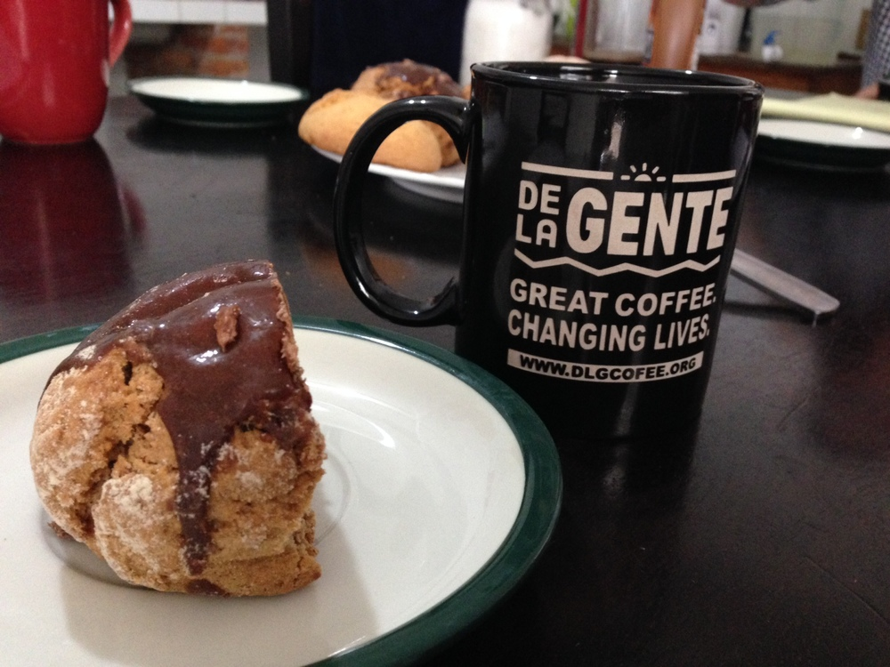 Check out the new De la Gente mug! We'll have some available soon here in Guatemala.