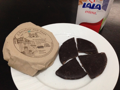 Chocolate tablets from San Juan del Obispo.