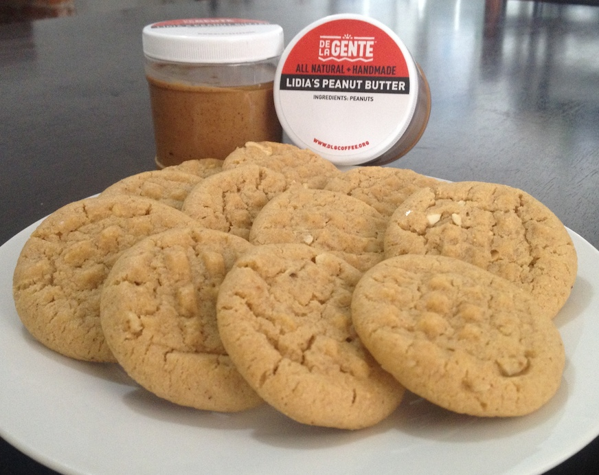 Lidia and Lilian's excellent peanut butter is magic for baking!