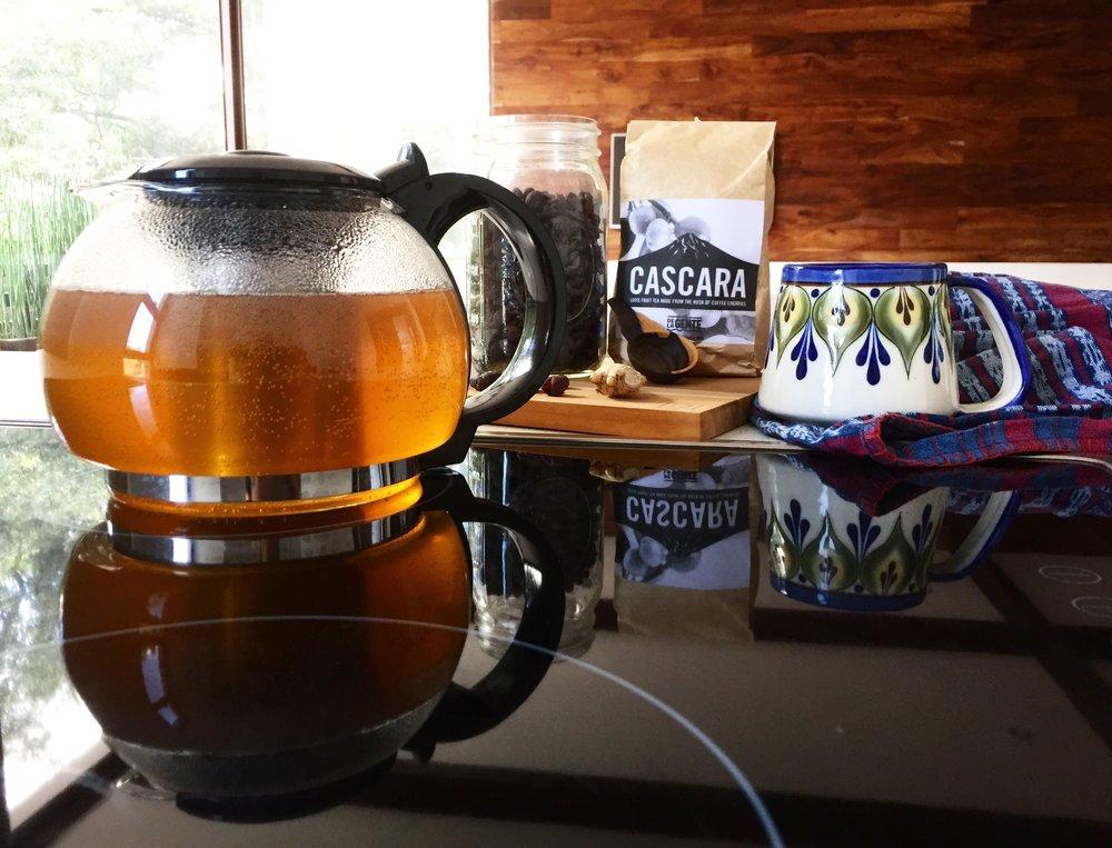 De la Gente Cascara Tea