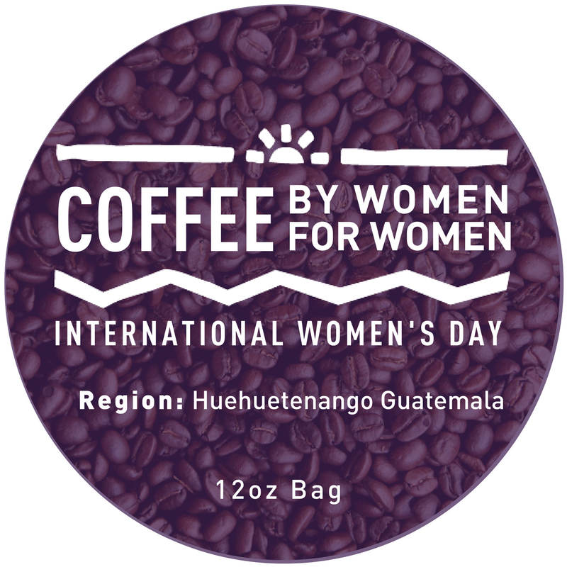 Click the icon and shop coffee 100% grown, harvested and processed by women from Huehuetenango.