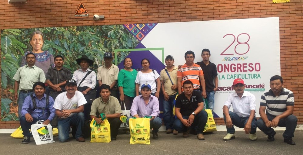 The group who attended the ANACAFE Congreso.