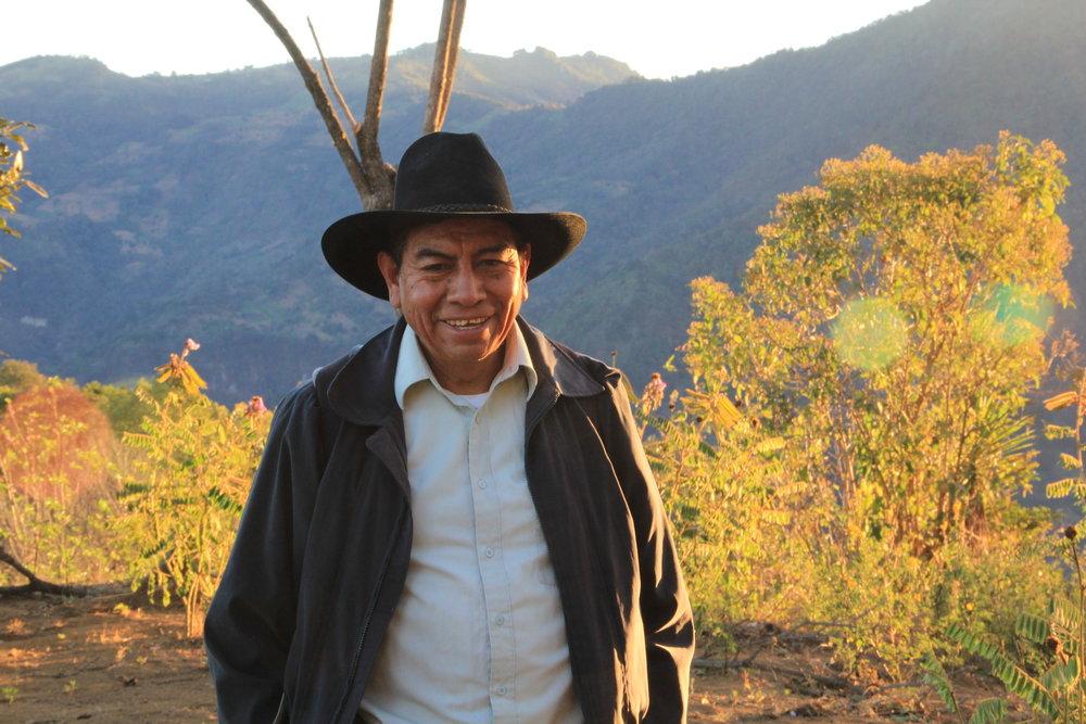 Roberto Cojtin, the leader of Ija'tz