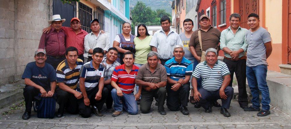 Members of Café Artesanal San Miguel Entre Volcanes de Antigua