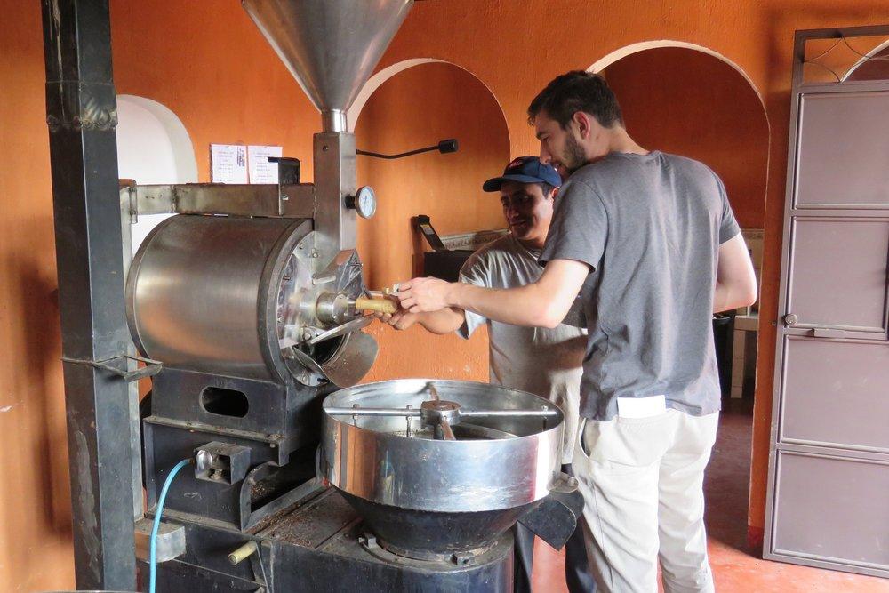 Coffee Roaster Antigua Guatemala