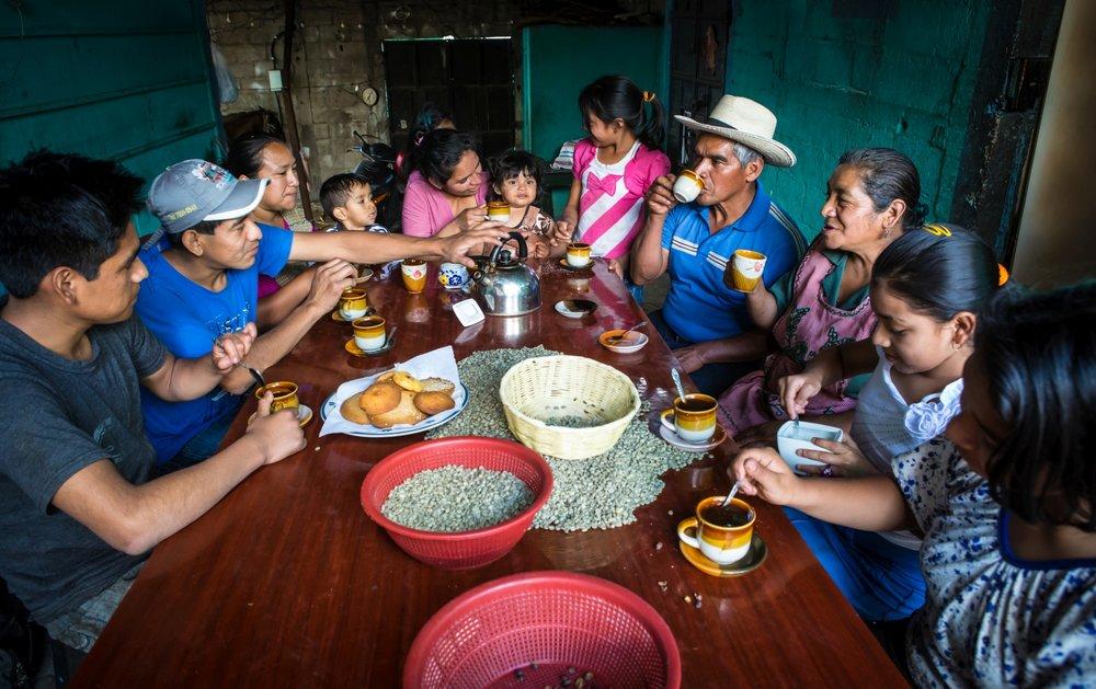 Coffee Farmers Antigua Guatemala