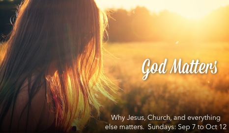 This message series explores some of the most fundamental matters about God and the Christian Faith, addressing not only what these topics are about by why they matter.