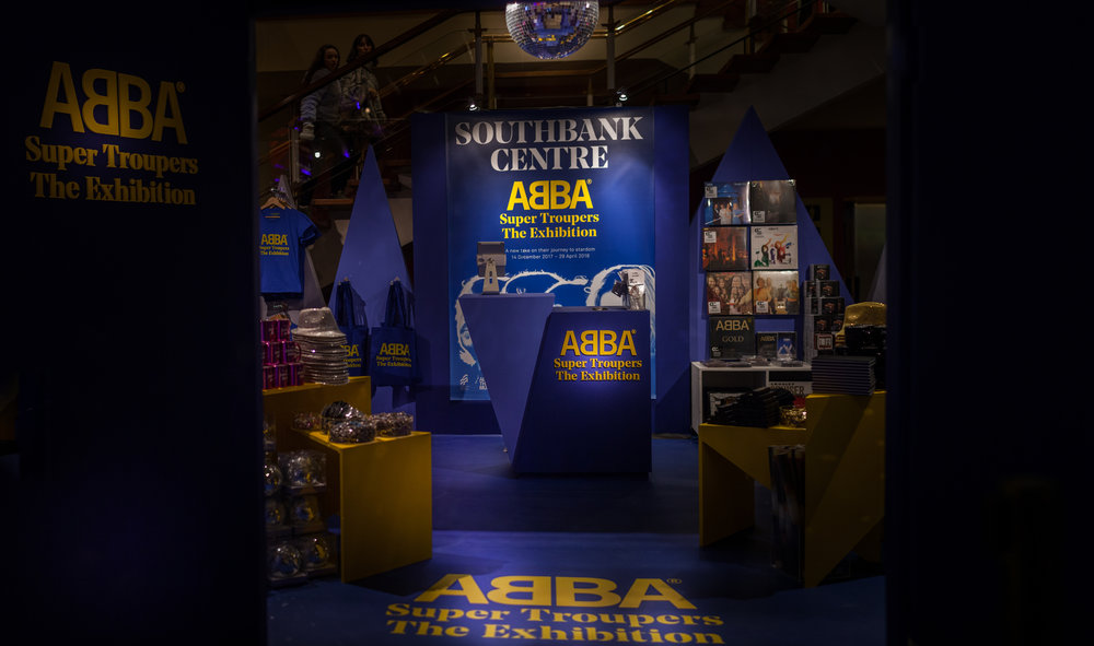 Royal Festival Hall - ABBA Super Trouper Shop