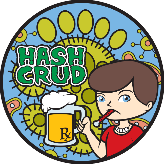 Hash Crud - A Patch For Wankers That Got The Crud At InterAm 2017