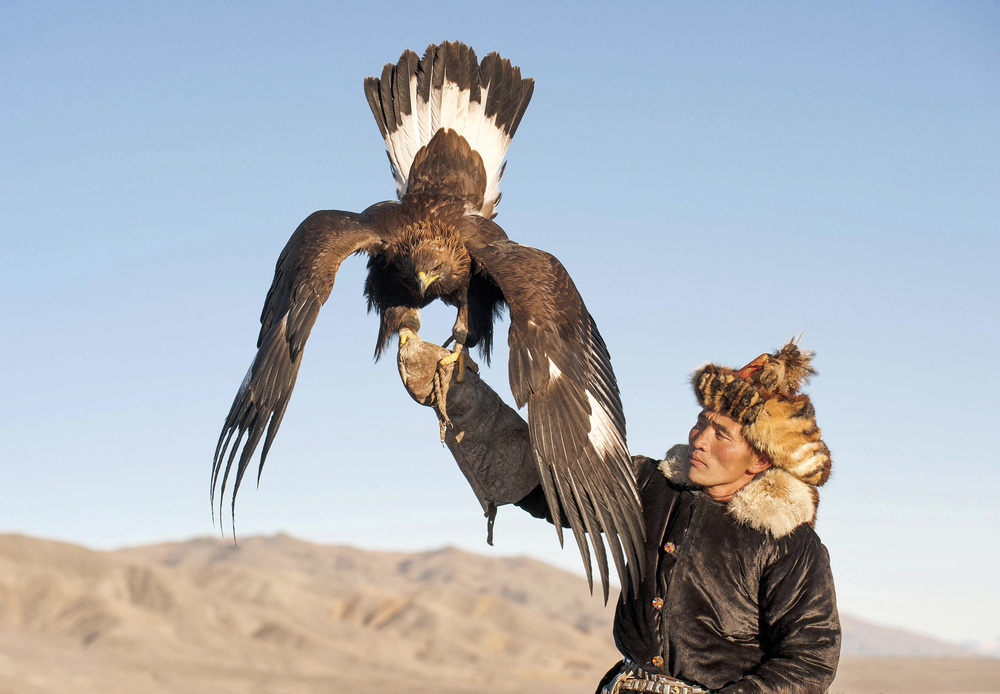 golden eagle and kazak eagle hunter.jpg